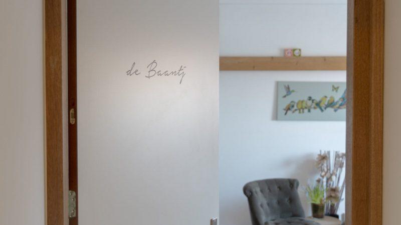 Bed en breakfast t inj - kamer De Baantj