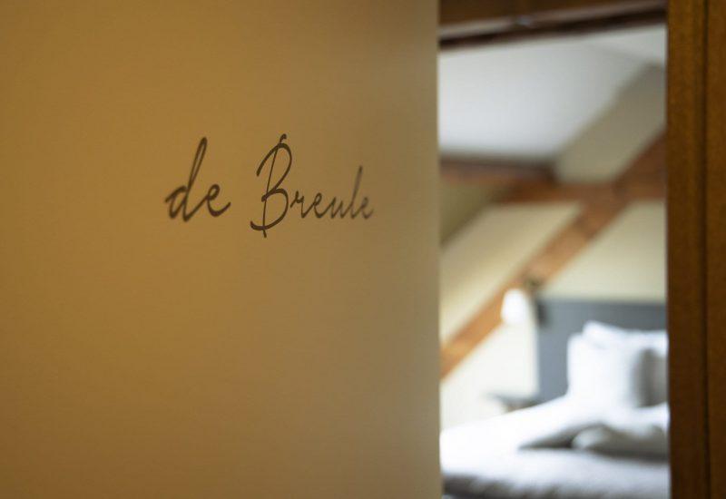 Bed en breakfast t inj - kamer De Breule